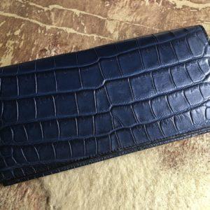 横浜でクロコダイル長財布をオーダーメイド