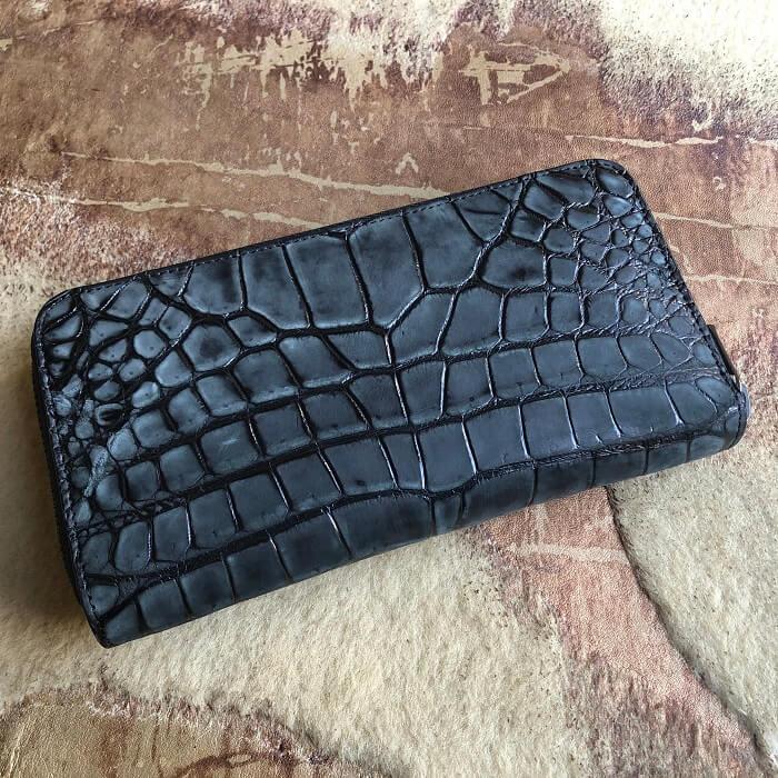 クロコダイルの長財布