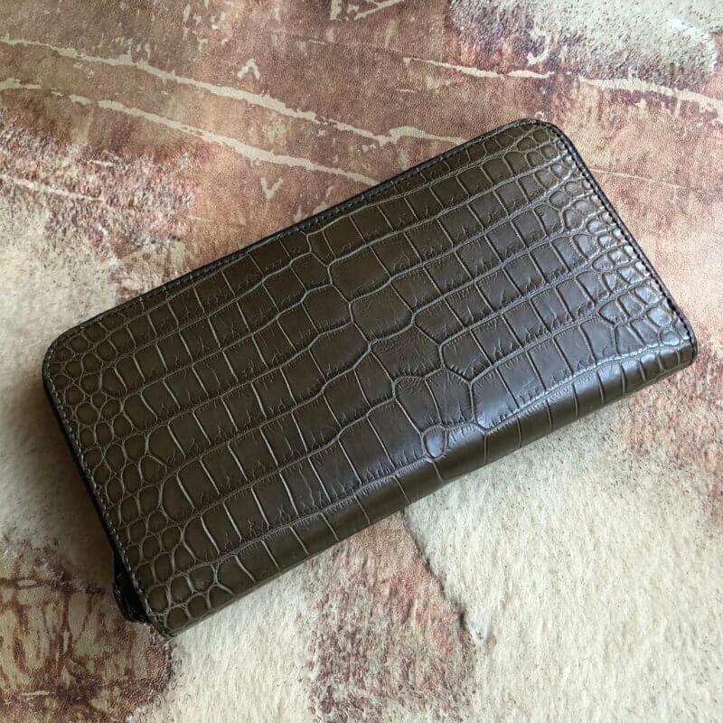 クロコダイルポロサス財布