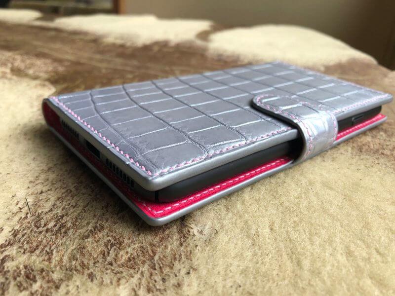 クロコダイルiPhone8plusケースオーダーメイド